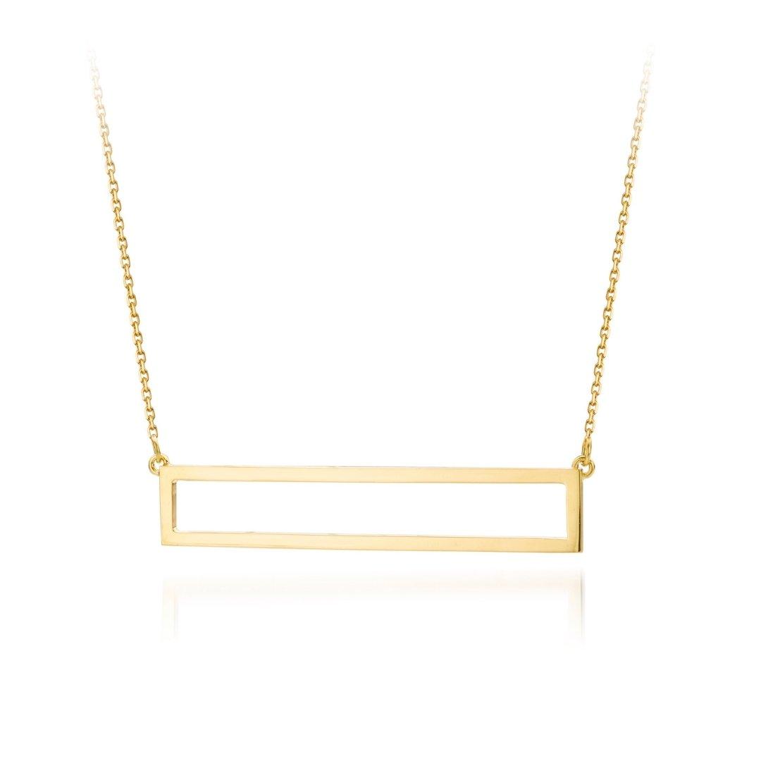 Audrey Huet Joaillerie collier au design épuré or jaune 18 carats pour des femmes élégantes de caractère
