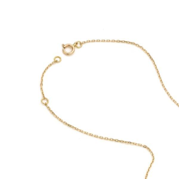 Audrey Huet Joaillerie collier or jaune design épuré